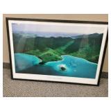 Beautiful Framed St John Virgin islands Picture
