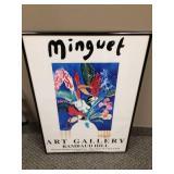 Framed Minguet Art Gallery Framed Poster Picture