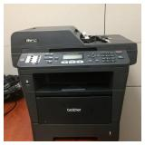 MSRP $900 Brother MFC-8810DW Wireless 40PPM Monochrome Laser Printer with Scanner Great Working Condition!
