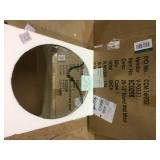 Small Oval Mirror (16 in. H x 12 in. W) Customer Returns See Pictures