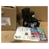 7 in. x 9.5 in. x 9 in. Stove Pipe Draft Inducer with Speed Control by Auto-Draft Customer Returns See Pictures