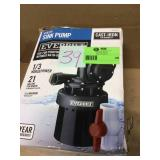 1/3 HP Utility Sink Pump by Everbilt Customer Returns See Pictures