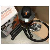 6 Gal. 3.5-Peak HP NXT Wet/Dry Shop Vacuum with Filter, Hose and Accessories by RIDGID Customer Returns See Pictures