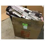 BIG MIX LOT OF DELTA TOWEL BAR, TOWEL RING & MISC. Customer Returns See Pictures