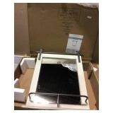 Medium Rectangle Rustic White Classic Mirror (25 in. H x 20 in. W) Customer Returns See PicturesCustomer Returns See Pictures
