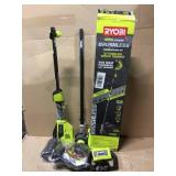 40-Volt Lithium-Ion Brushless Electric Cordless Attachment Capable String Trimmer 4.0 Ah Battery and Charger Included by RYOBI Customer Returns See Pictures
