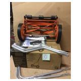 14 in. Manual Walk-Behind Push Reel Lawn Mower by American Lawn Mower Company Customer Returns See Pictures