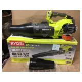 160 MPH 520 CFM 25cc Gas Jet Fan Blower by RYOBI Customer Returns See Pictures