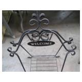 Wraught Iron Fold-up Plant Stand. P...