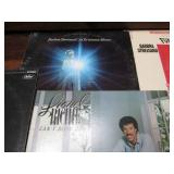 Stack of Vintage Record Albums from...