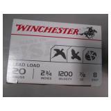 Winchester Ammunition. 20 Gauge 2 3...