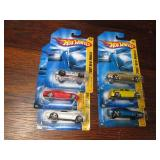 Set of 6 Collectible Die Cast Hotwh...