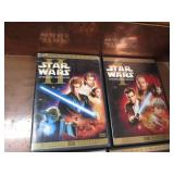 Set of 4 Star Wars DVDs. Phantom Me...