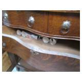 Vintage Buffet Style Dresser. Heavy...