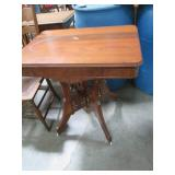 Wooden Side Table or Plant Stand wi...