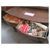 Heavy Duty Vintage Wood Buffet Cabi...