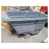 Heavy Duty Rubbermaid Rolling Utili...