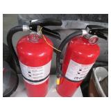 Lot of 2 fire extinguishers...