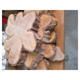 4 Naturally Grown rough cut Slabs o...