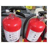 Lot of 3 fire extinguishers...