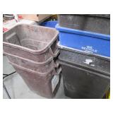 HUGE lot of Trash Recepticles, Recy...