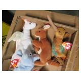 Flat of 6 Collectible Beanie Babies...