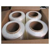 4 Rolls of Stretch Wrap Shrink Wrap...