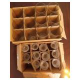 Boxes of Glass Tea Light Holders and Cylinders