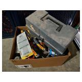 Misc Box of Tools with Toolbox