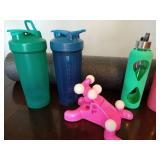 Exercise Roller & Bottles