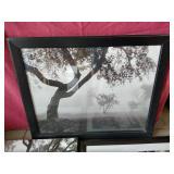 Classy Black & White Tree Art