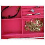 Stackable Jewelry Box with Jewelry