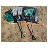 Snow Shovels, Driveway Markers & Snow Fence
