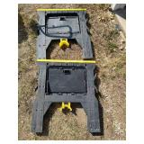 Set of Saw Horses 1,000 lb Capacity