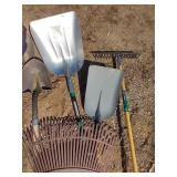 Shovels & Rakes