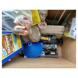 2 Boxes Random Tools & Hardware