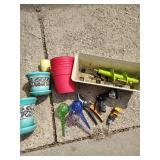 Pots, Gardening Tools & Watering Globes