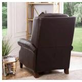 Ridgewood Top Grain Leather Pushback Recliner the retail price in Costco is $749.99