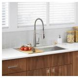 Kohler Pro-Inspired Kitchen Sink Kit the retail price in Home Depot is $349.99