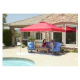 10 ft. x 10 ft. Red Instant Canopy Pop Up Tent the retail price in Home Depot is $109.00