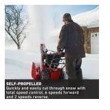 Power Max HD 1030 OHAE 30 in. 302 cc Two-Stage Gas Snow Blower with Electric Start, Triggerless Steering & Hand Warmers the retail price is $1,500