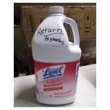 Lysol No Rinse Sanitizer