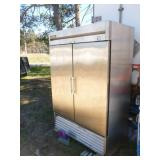 True NSF freezer 115 volt. Model T-49-F 80 x 54 x 30. Was working when removed from service. Has been sitting a few years. Very clean inside. As shown.