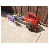 Craftsman 2 cycle leaf blower. Tested & works. May need carb adjustment. As shown.