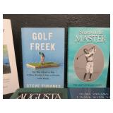 MASSIVE GOLF BOOK COLLECTION.