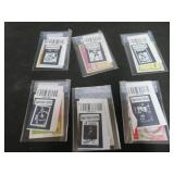 6 AUTHENTIC AUTOGRAPHED HOCKEY CARDS