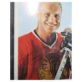 5 AUTHENTIC AUTOGRAPHED HOCKEY CARDS, PHOTO