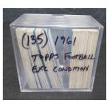 135 1961 TOPPS FOOTBALL  CARDS