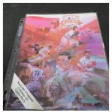 UPPERDECK FAN FEST 1992 SOUVENIR PROGRAM