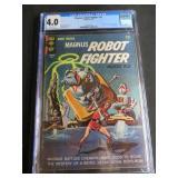 CGC UNIVERSAL GRADE GOLD KEY MAGNUS ROBOT FIGHTER 4000A.D. COMIC BOOK